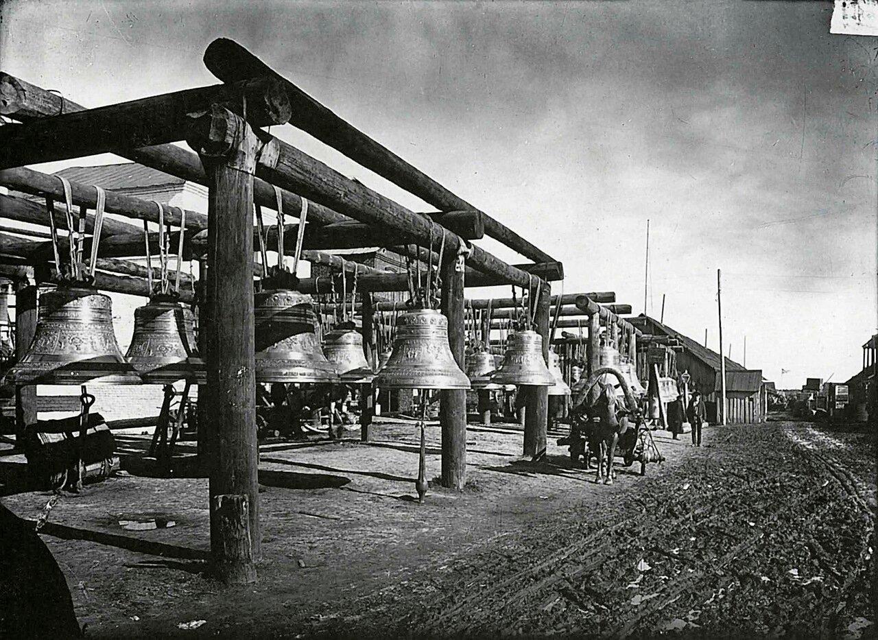 Колокольные ряды на ярмарке. 1896