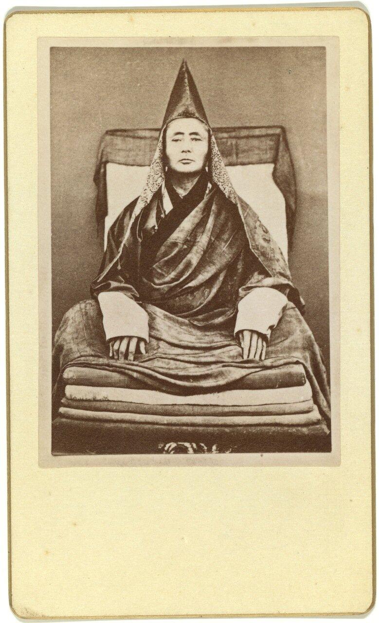 Портрет великого ламы Селенгинского дацана