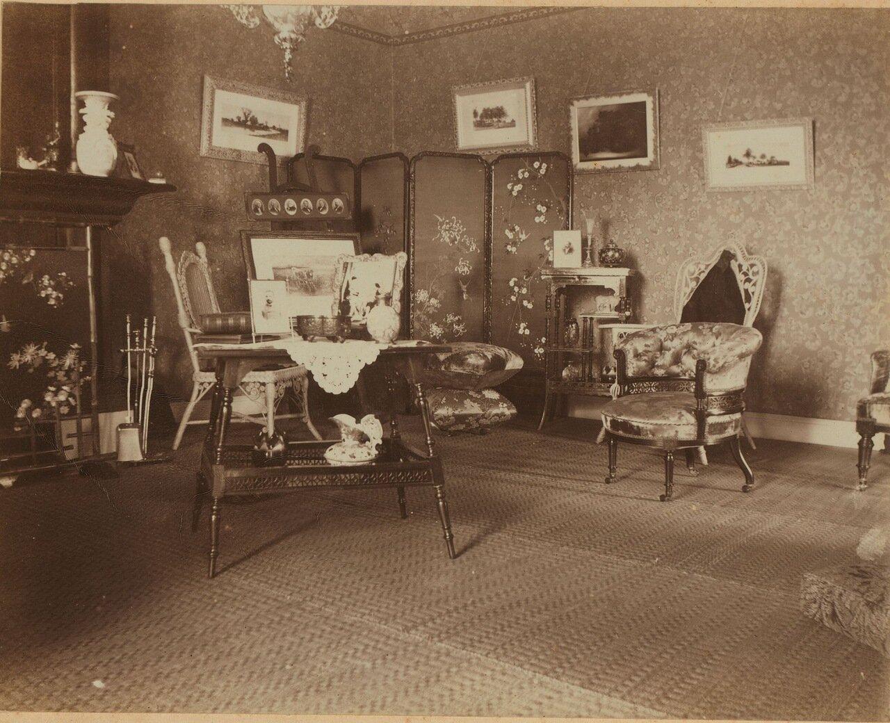Уголок гостиной, лицом к востоку. Апрель 1899