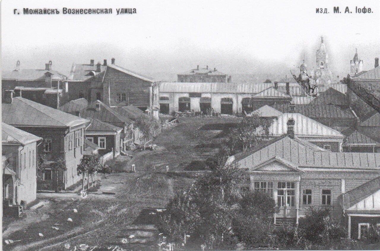 Вид с колокольни Вознесенской церкви