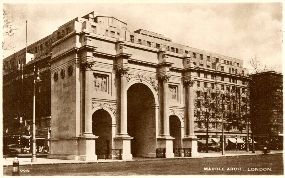 Мраморная арка, Лондон. 1930