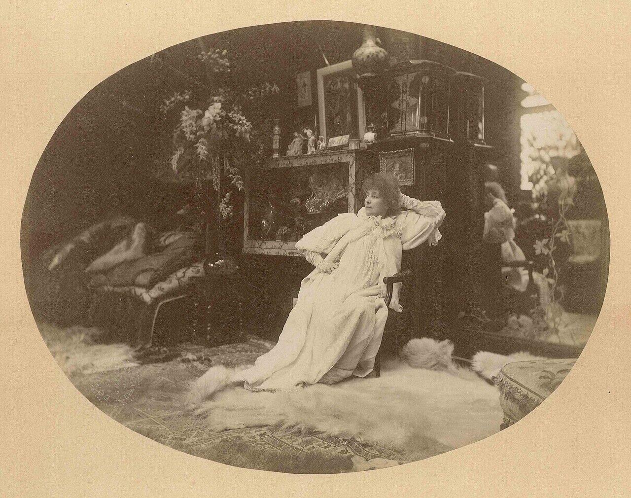 Сара Бернар (22 октября 1844 — 26 марта 1923, Париж), актриса