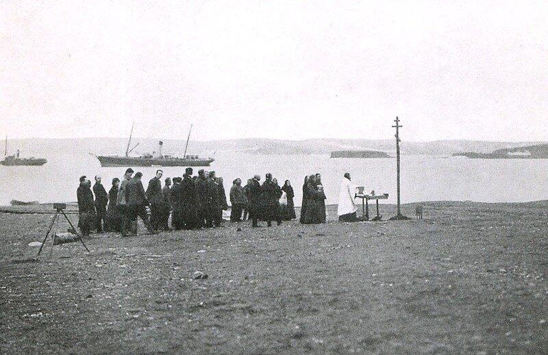 Закладка Ольгинского посёлка в 1910 году