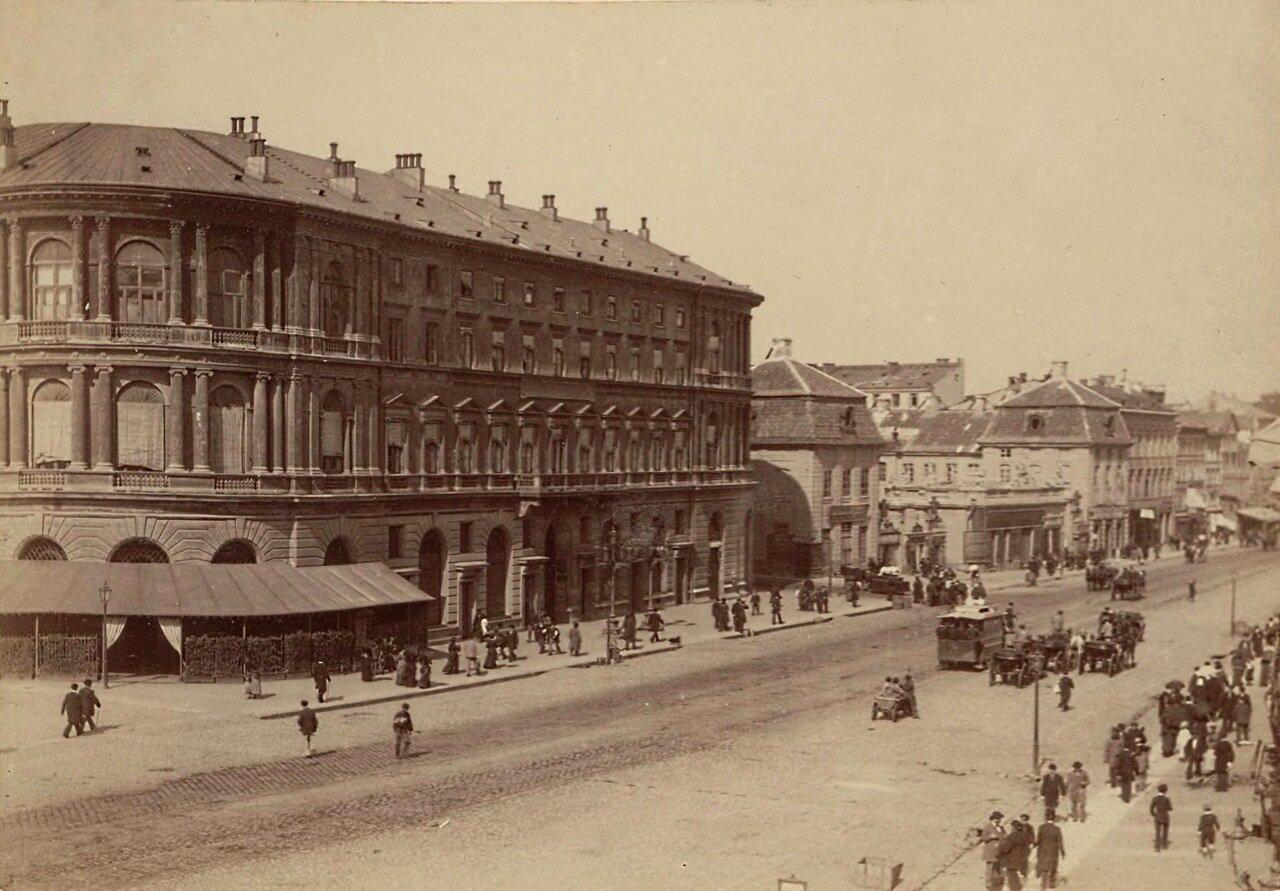 Гостиница Европейская. 1879