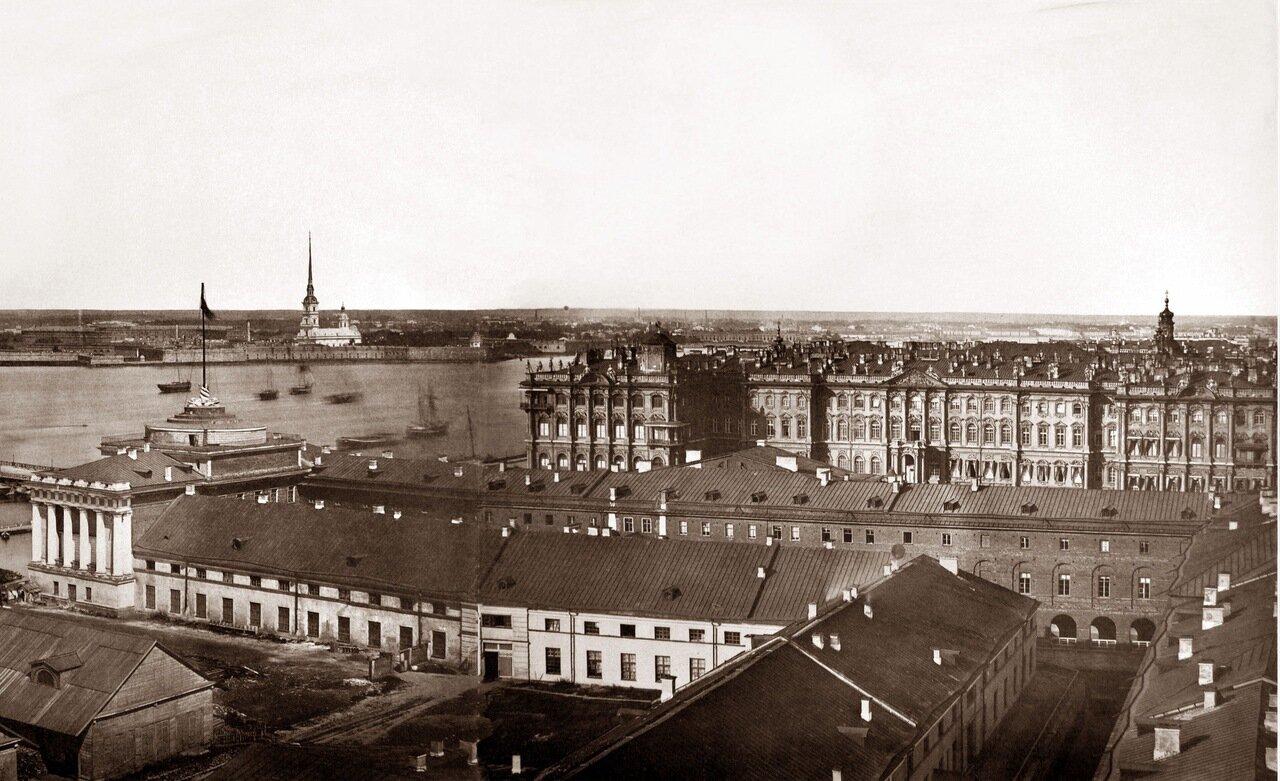 Панорама Санкт-Петербурга 1861 года