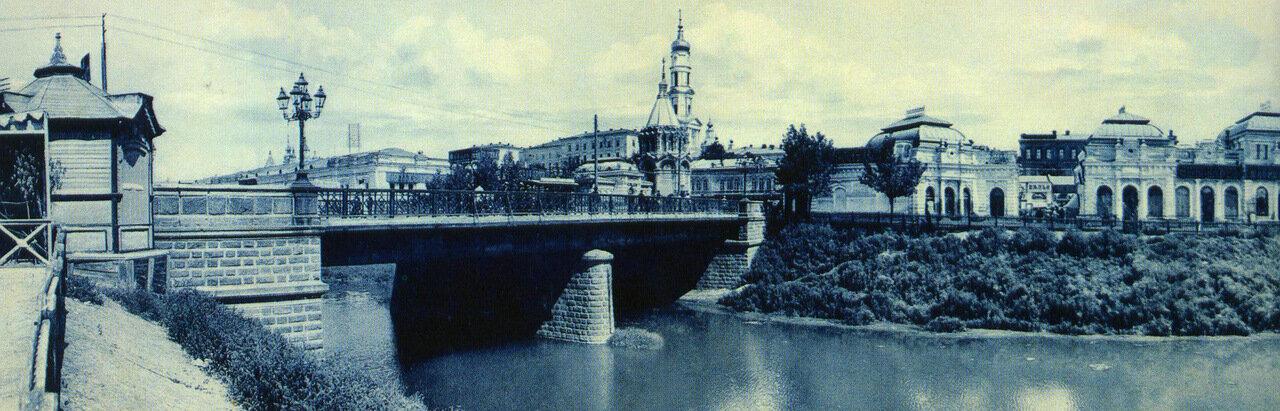 Панорама Сергиевской площади