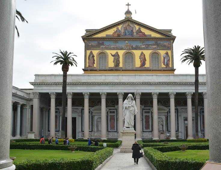 Сан-Пауло-фуори-ле-Мура, Рим