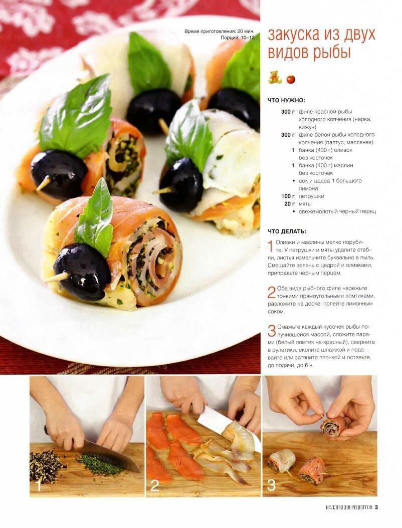 Рецепты приготовления с пошаговым фото закусок