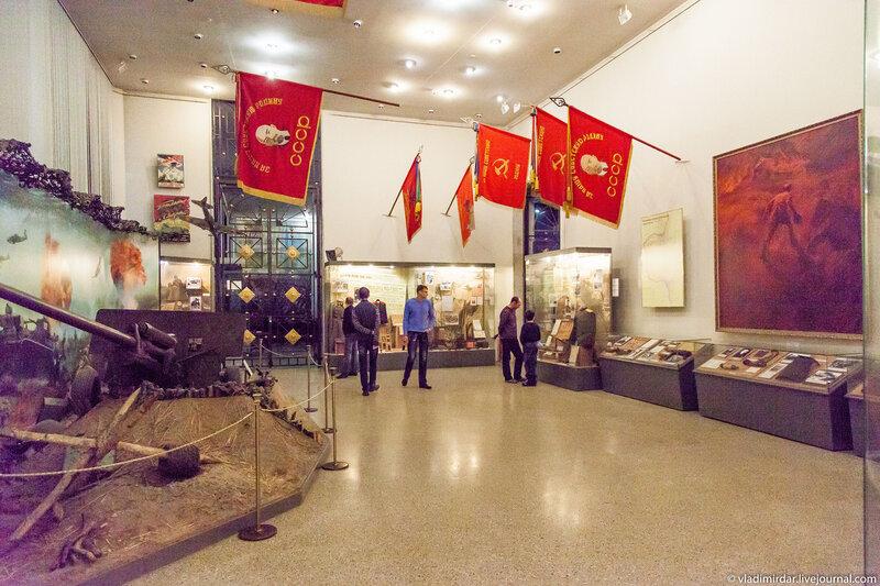 Экспозиция музея на втором этаже