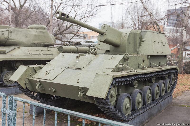 Самоходная-артиллерийская установка СУ-76