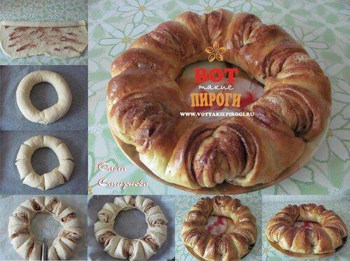 Слоеное тесто рецепты выпечки сладкие фото
