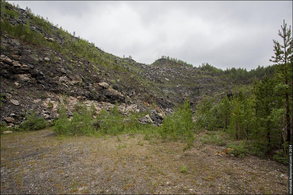 Кыштымское месторождение кварца Жила №175
