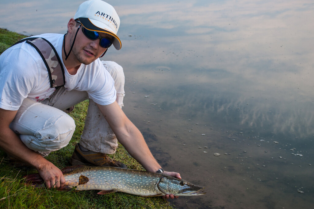 Изображение 1 : Дорвался до рыбалки...