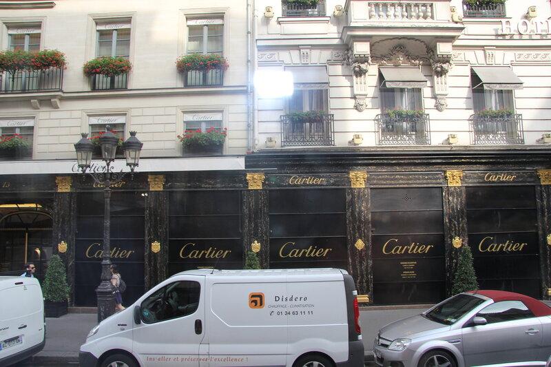 Улица ювелиров в Париже