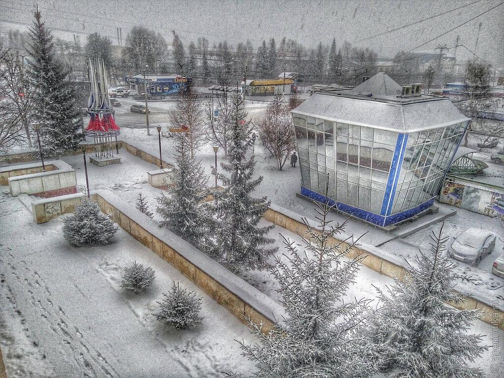 В Златоусте начинается зима