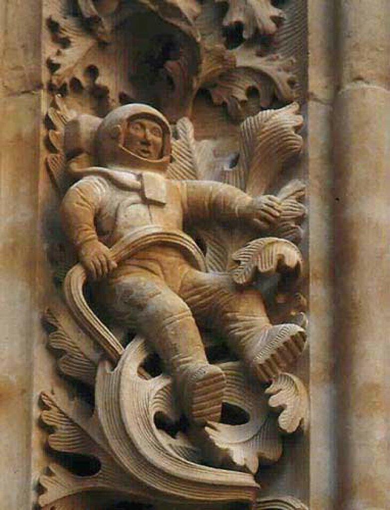 Űrhajós évszázadokkal ezelőtt