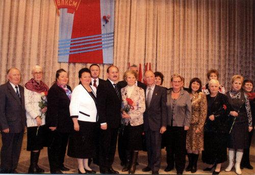 Мы попали на комсомольское собрание посвященное 95 летию комсомола
