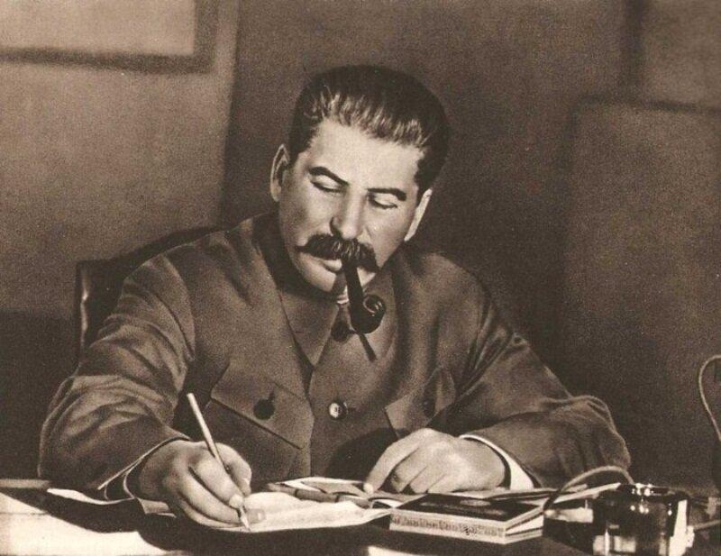 Сталин умел пошутить