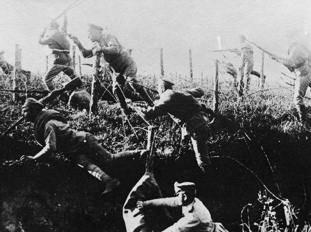 world war i ii settlements