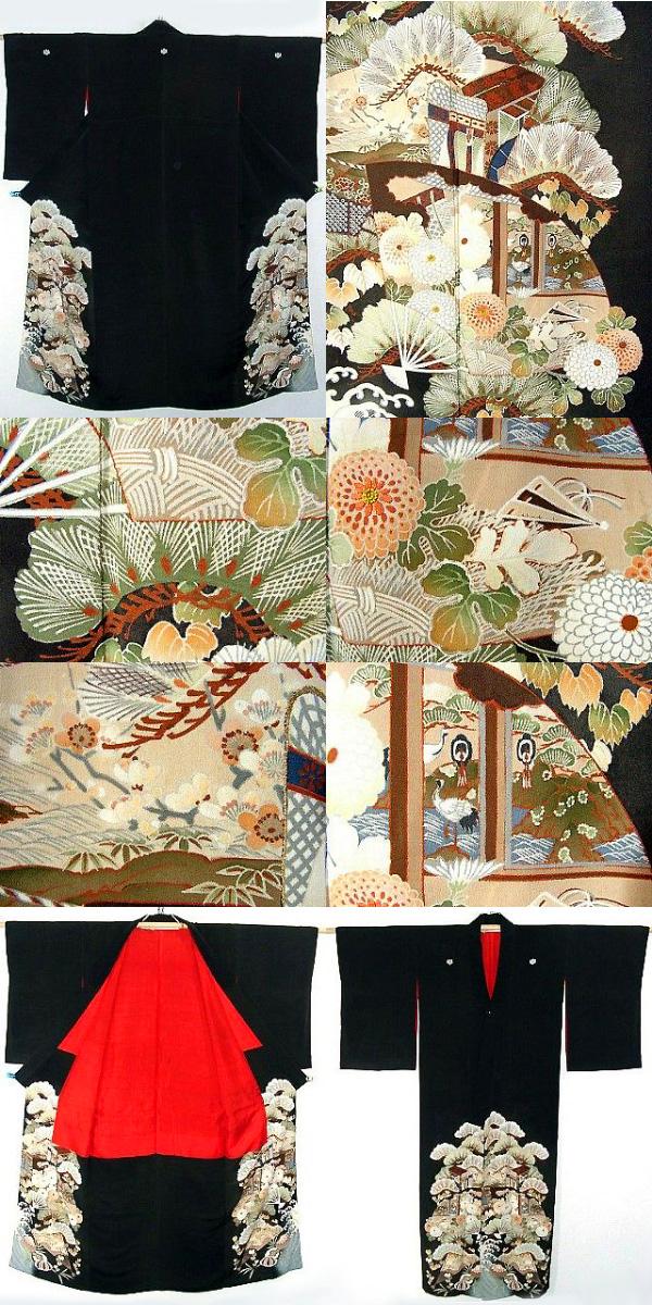 Томесоде - кимоно замужней женщины