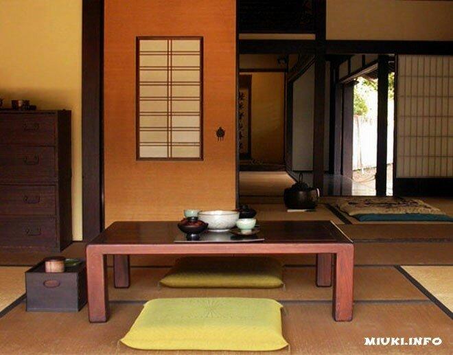 Японская мебель. Основы основ, главные предметы