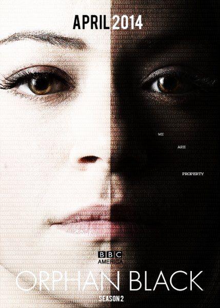Тёмное дитя / Orphan Black (2 сезон/2014/WEB-DLRip)