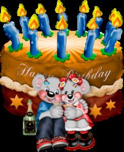 мишки Тедди и день рождения