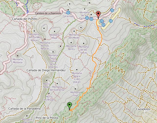 Анага тенерифе на карте