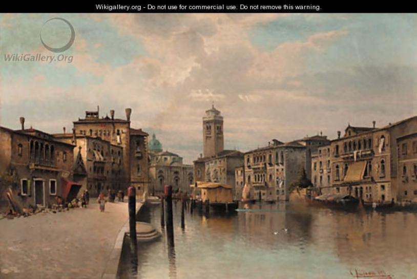A Venetian Scene