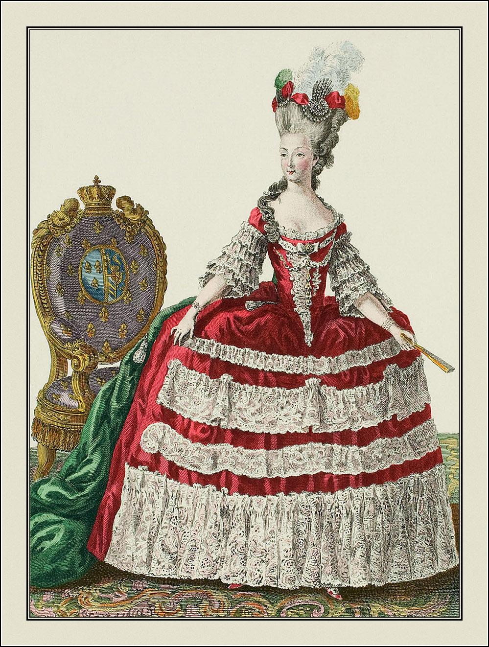 Galerie des modes et costumes français 1778-1787