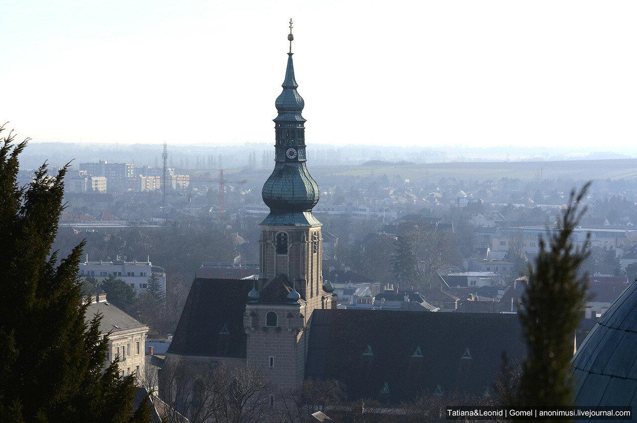 Баден в декабре. Австрия