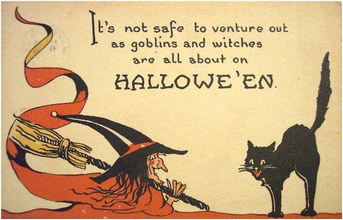 Открытки к хеллоуину на английском языке