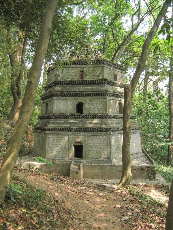 Пагода, Сад пагод, Люхэта, пагода Шести гармоний, Ханчжоу