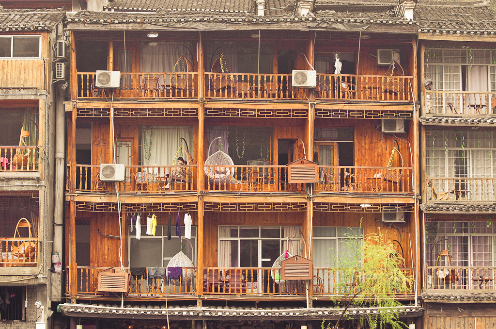 20. Китайская геометрия. Экскурсия по городу Фэнхуан.