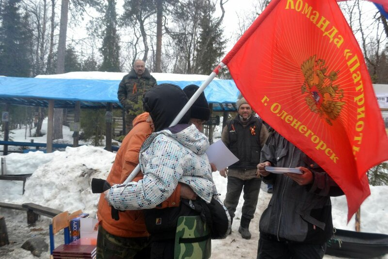 Оленегорские волонтеры на Партизанском