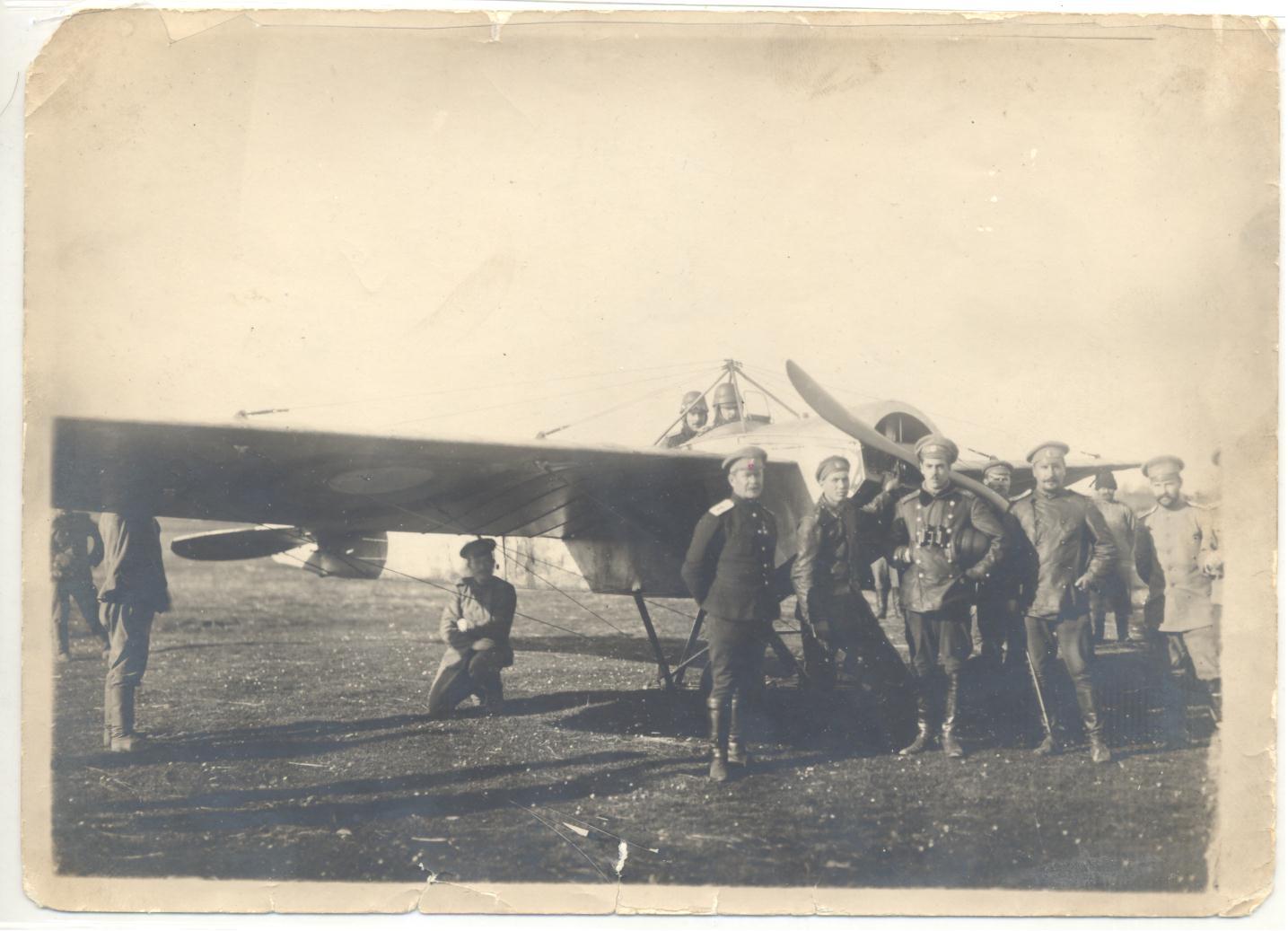 Летчик 25-го Корпусного авиотряда. Разведчик. Киев. 1916 г..jpg