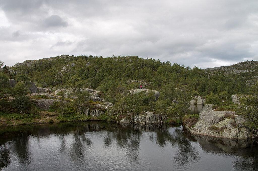 Горное озеро, Люсефьорд