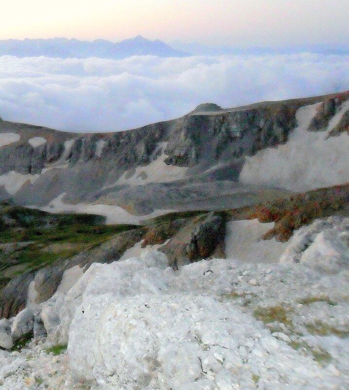 Июль, Кавказ, Оштен