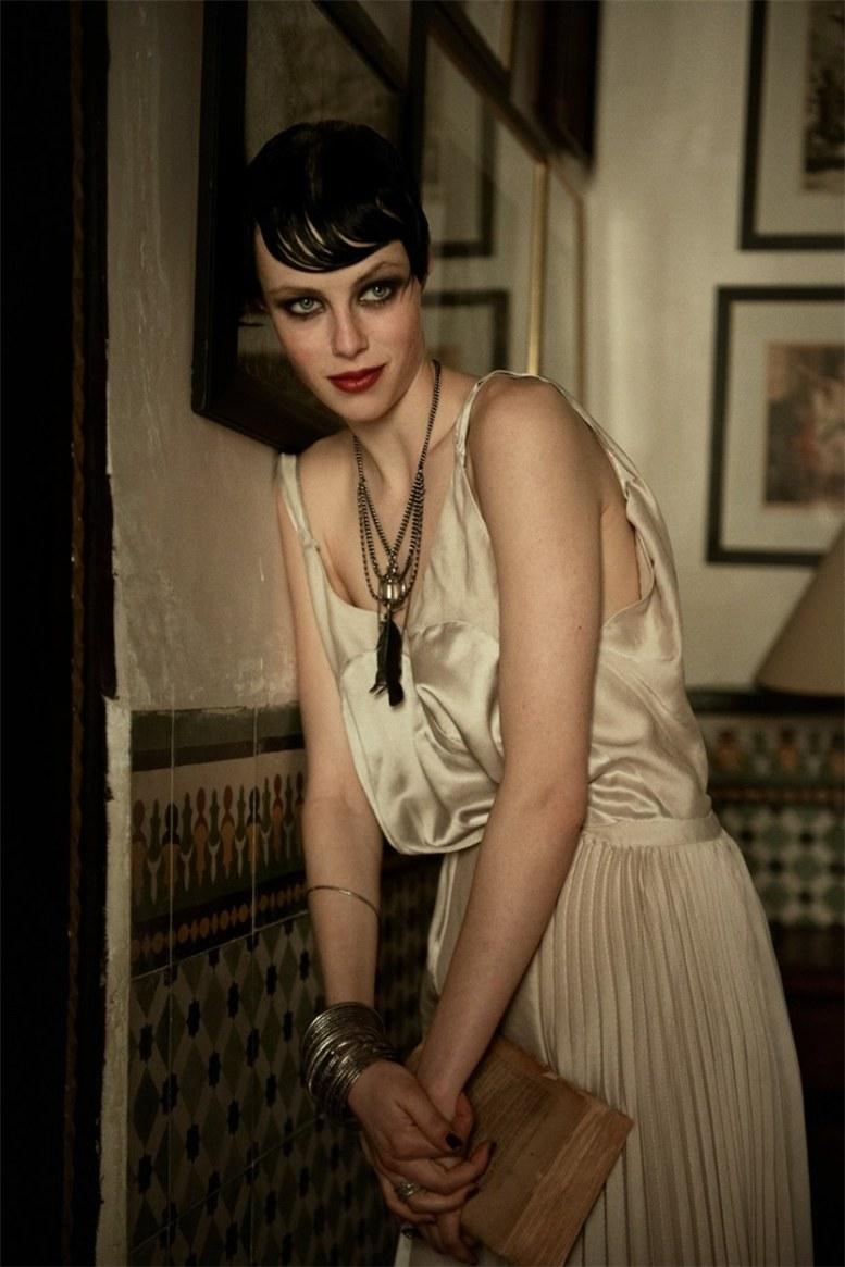 Edie Campbell / Эди Кемпбелл, фотограф Peter Lindbergh / Vogue US june 2013