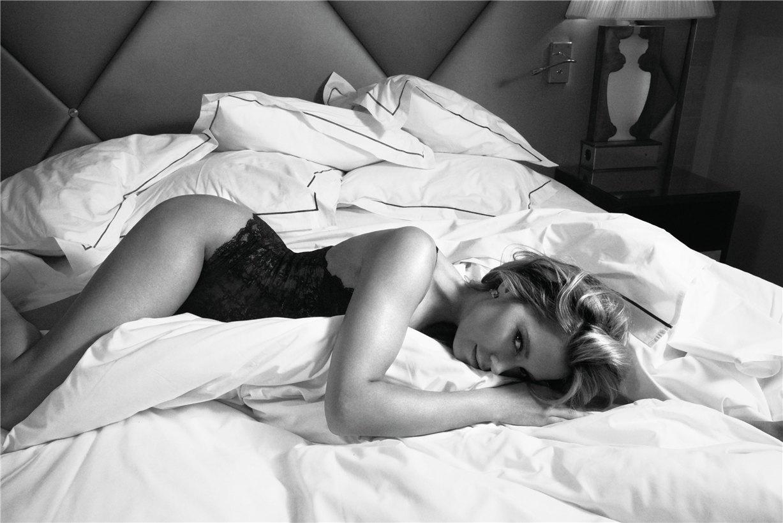 Sylvie van der Vaart / Сильвия ван дер Варт в рекламе нижнего белья Hunkemoeller 2013 / by Petrovsky & Ramone