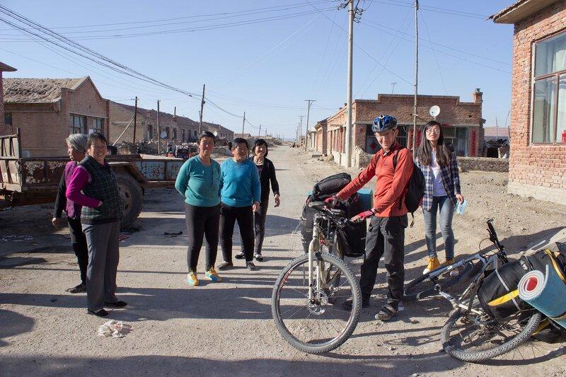 деревня Гаоусу во внутренней монголии, китай