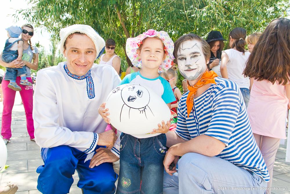 День молока в Волжском / 2014 год