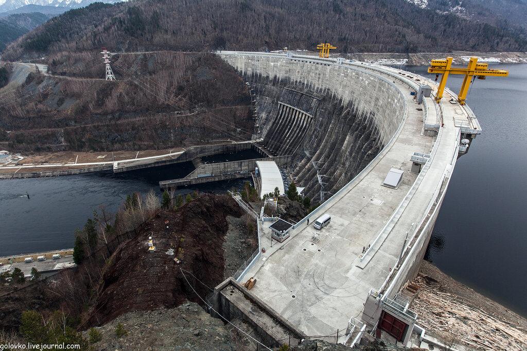 Пример средненапорной плотины