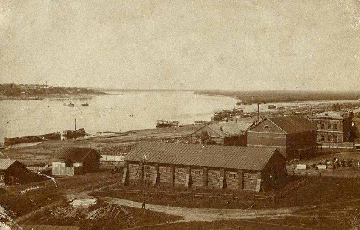 Вид от Костромского кремля. 1910