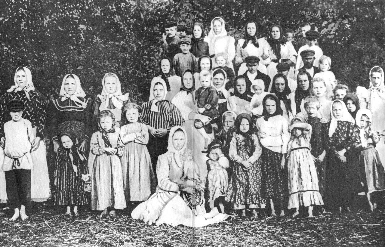 Крестьяне средней полосы России. 1900-е гг.