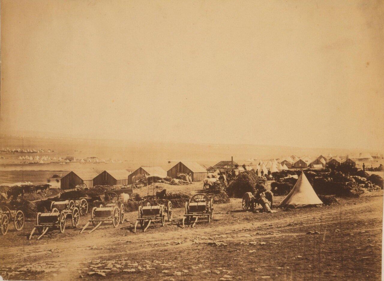 1855. Лагерь англо-французской коалиции возле Балаклавы