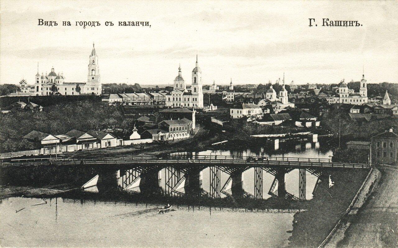 Вид на город с каланчи
