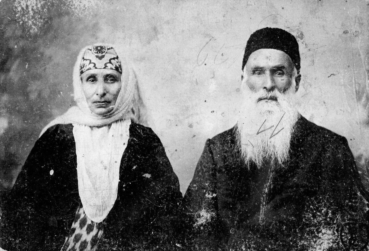 Рахиль и Дэвид Аминав, Ташкент, ок. 1870
