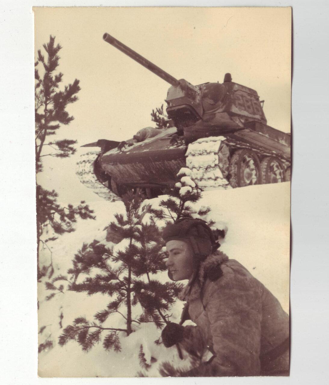 Танкист и его Т-34