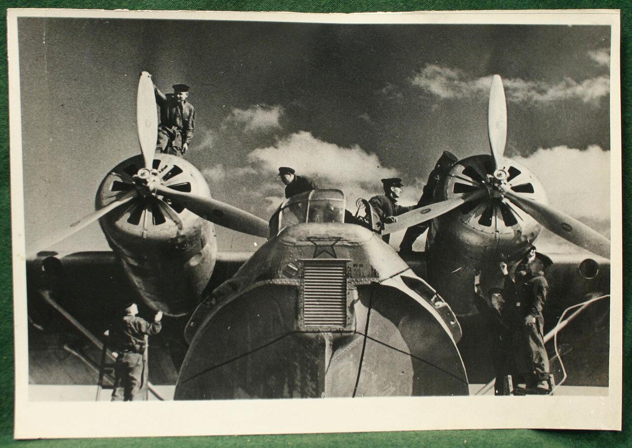 1930. Гидросамолёт Консолидэйтед PBY Каталина.